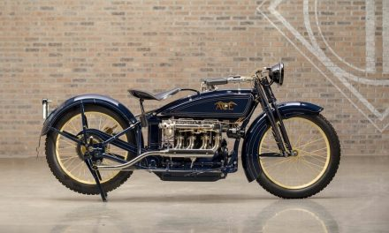 Legendary Bikes: 1923 Ace Four Cylinder Sporting Solo