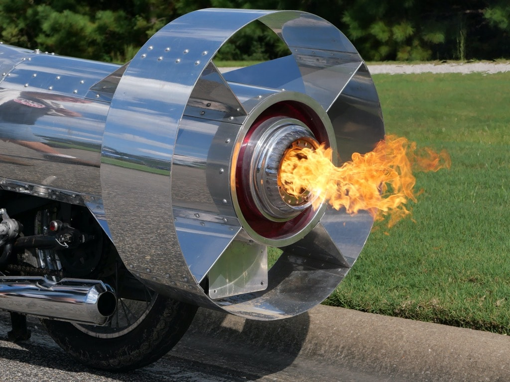 picture of Drop tank motorcycle