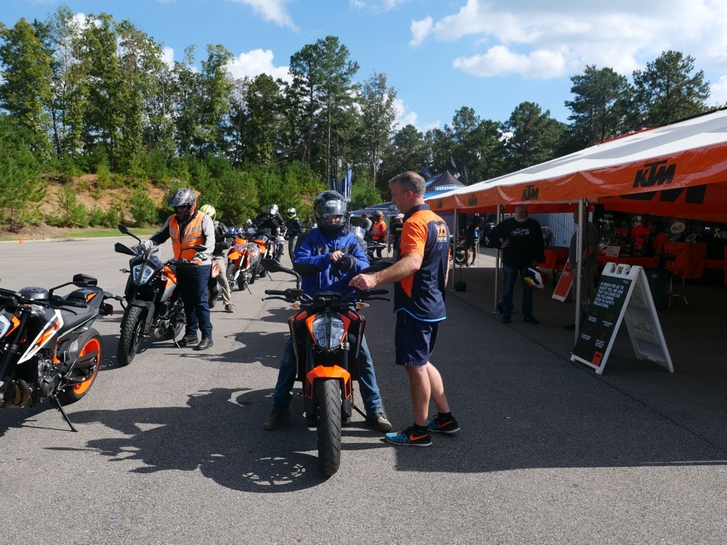 picture of KTM demos